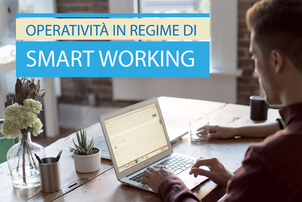 siamo in SMART WORKING